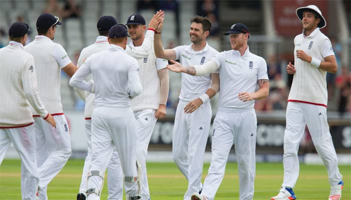 Team India lost first test match against England