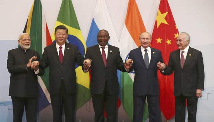 PM Modi Meets Vladimir Putin In South Africa Jinping