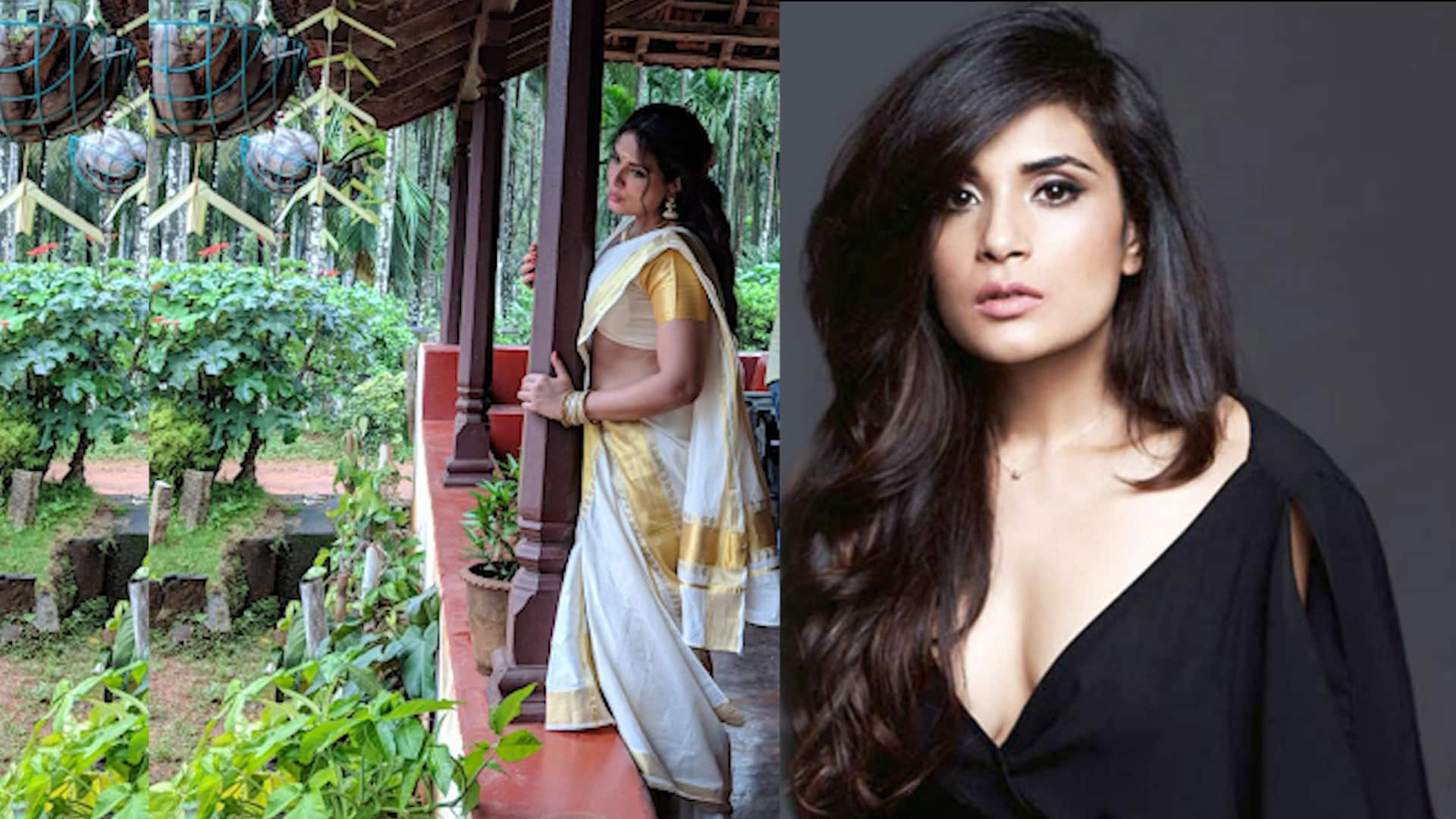 Richa Chadha to play southern sex siren Shakeela. Here are the pictures