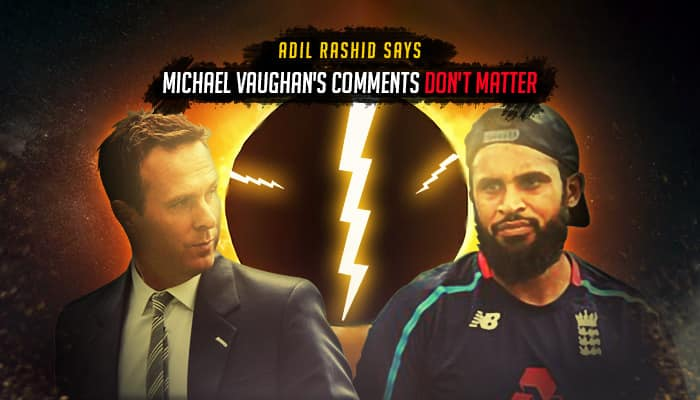 India vs England 2018: Adil Rashid hits back at Michael Vaughan, says his comments are 'stupid'