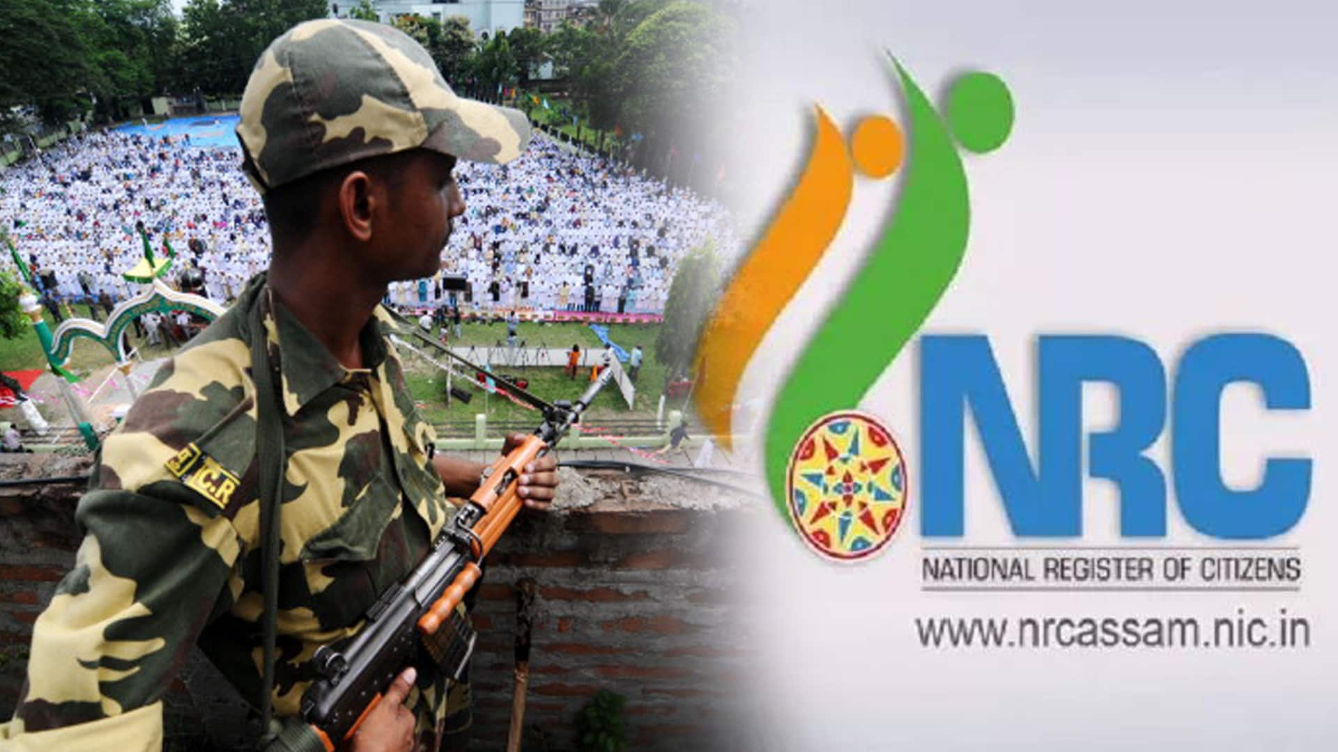 protest against NRC In Assam fear of heavy violence