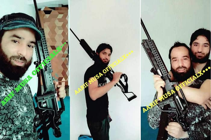 Pakistan supplying sniper rifles to terrorists in Kashmir to target security forces
