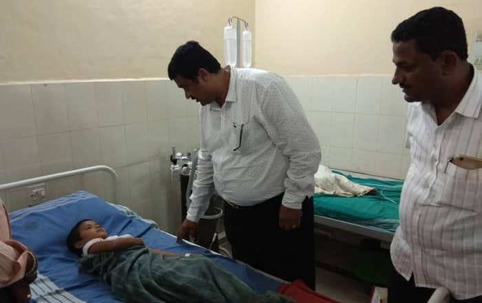 Anganawadi kids fall ill after having food at school