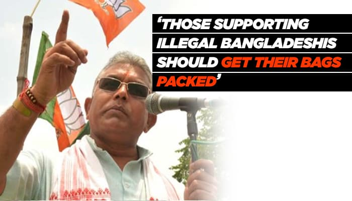'Those backing illegal Bangladeshis, Rohingyas should get their bags packed'