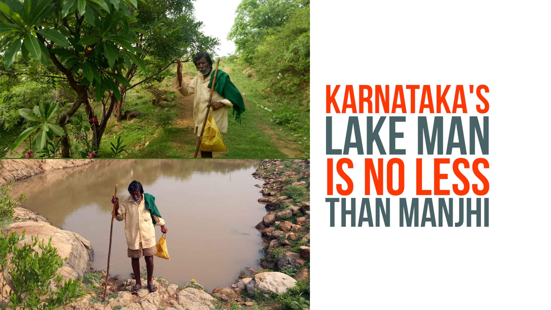 Water Warrior: 83-year-old lake messiah Kamegowda's tryst with tanks