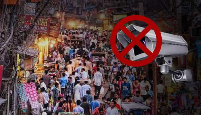All CCTVs in major markets of Delhi defective