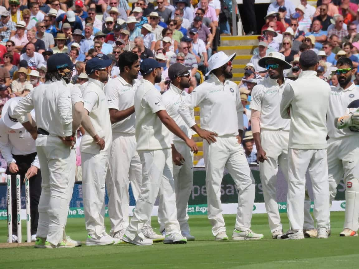India vs england test england 4 wickets down in 2nd innings