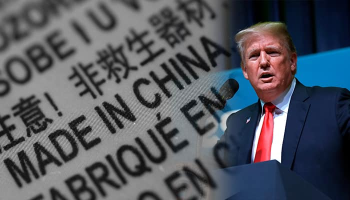 Trump administration proposes higher tax on import of Chinese products