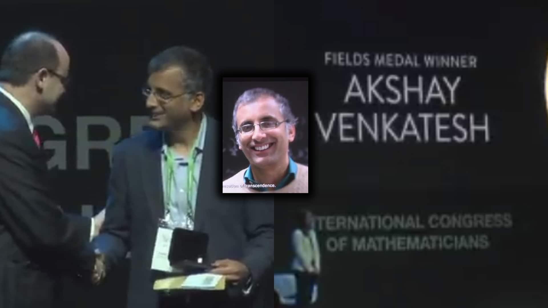 Indian-origin mathematician Akshay Venkatesh wins prestigious Fields medal, 'Nobel prize for Maths'