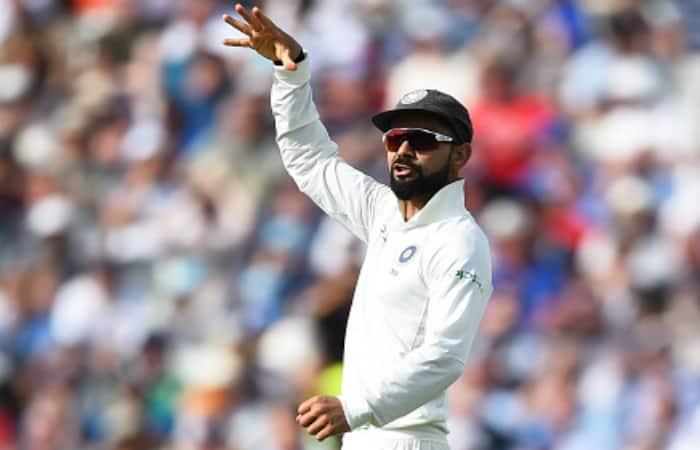 India vs England: Root sees funny side of Kohli's 'mic drop' celebration