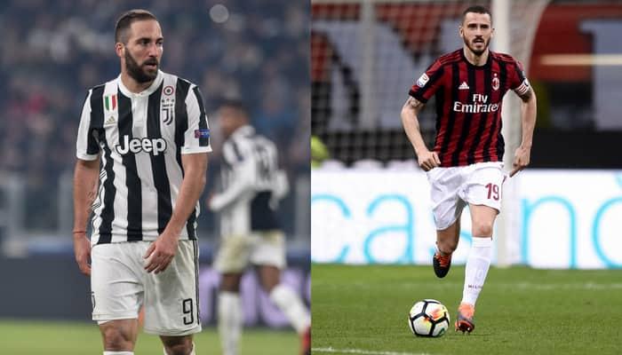 Football Transfers: Gonzalo Higuain signs for AC Milan;  Leonardo Bonucci back in Juventus