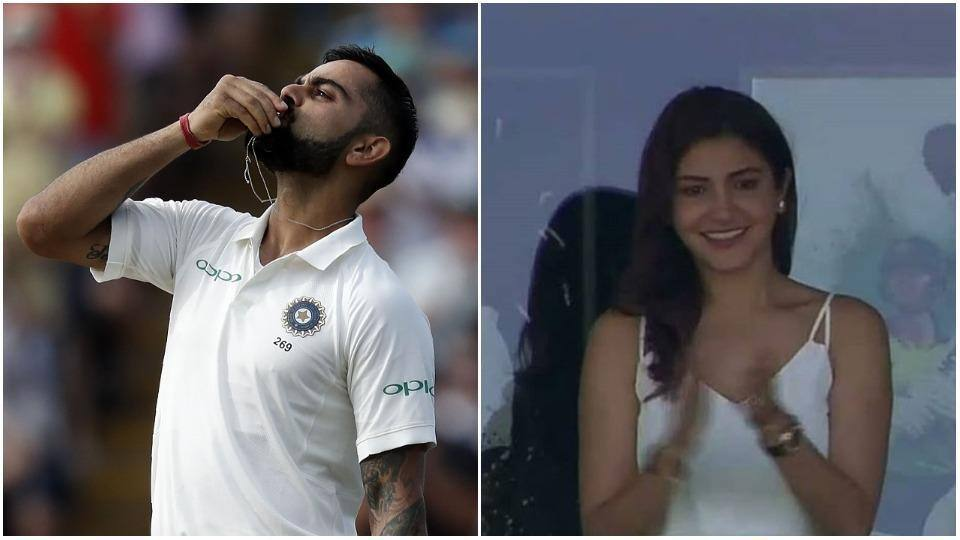 Virat Kohli kisses his wedding ring, dedicates Test century to Anushka Sharma