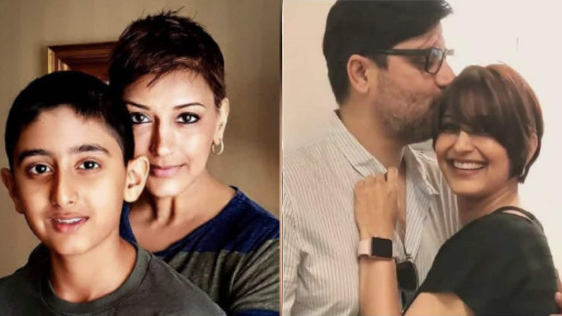 Sonali Bendre cancer treatment Husband Goldie Behl gives update