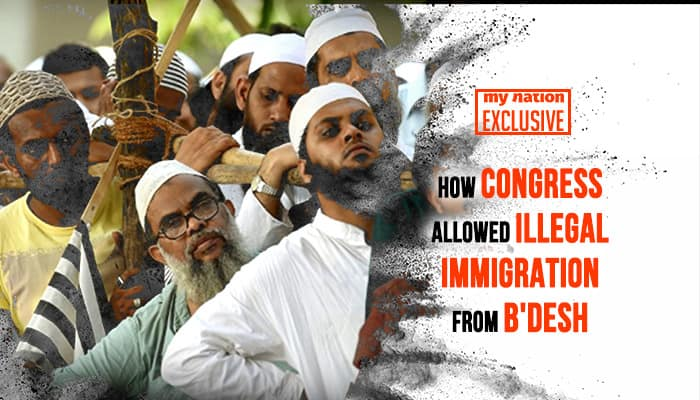 How Congress compromised Assam-Bangladesh border for muslim votebank: A video story