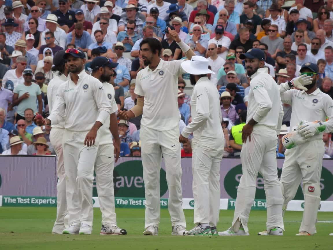 Ind vs Eng Test host lose top order batsman by lunch