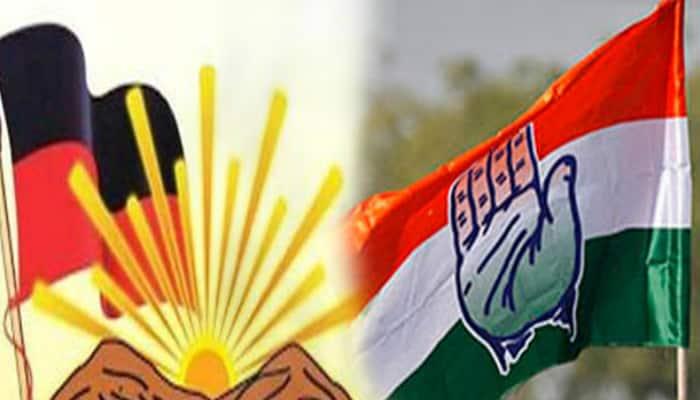 Viral check Congress using ambulance for campaign