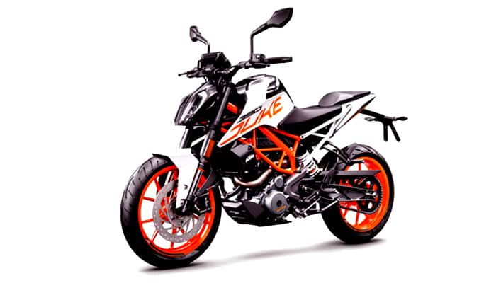 KTM Duke 125 Motorcycle Spotted Testing In India