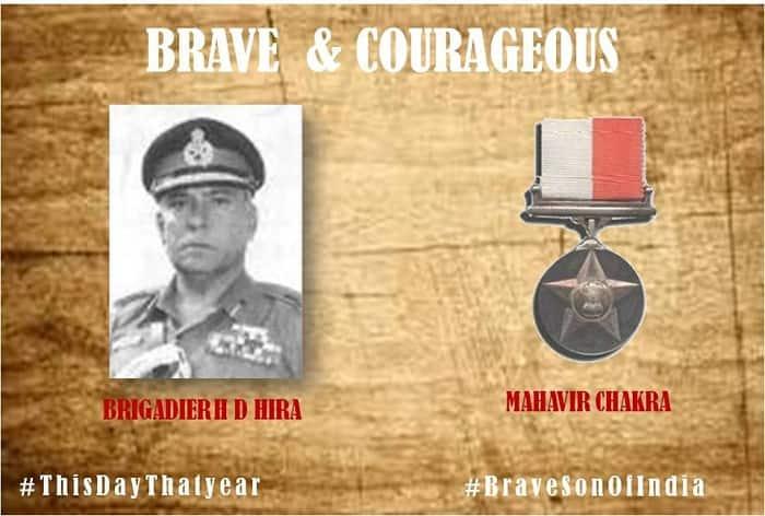 Saluting Brig Ramdharam Das Hira, Maha Vir Chakra, 1965 war operations