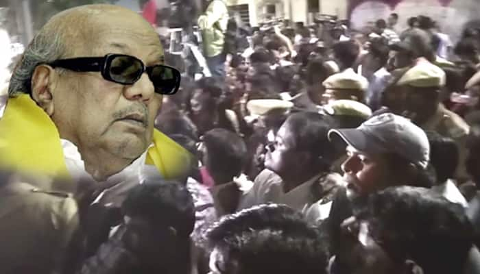 Controversy Breaks Out as TN Govt Denies Space for Karunanidhi's Burial at Marina Beach