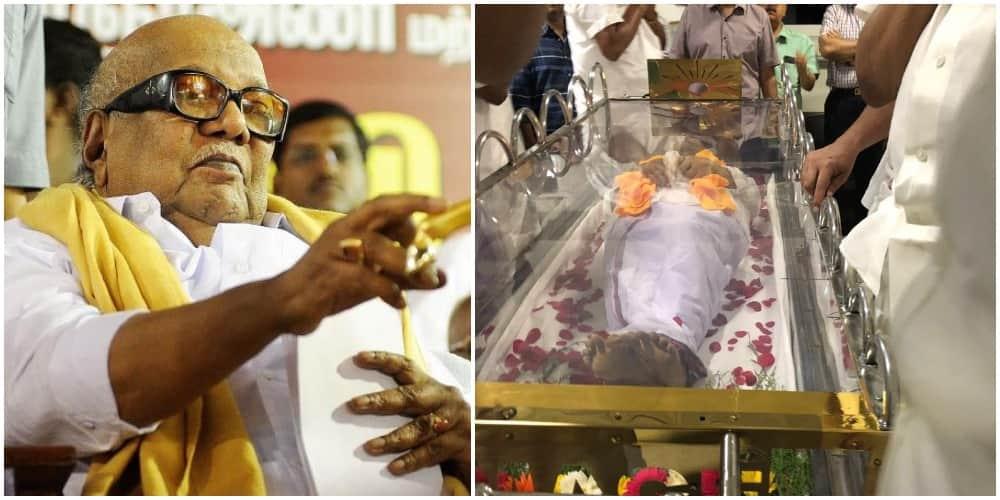 DMK president Karunanidhi passes away in Chennai