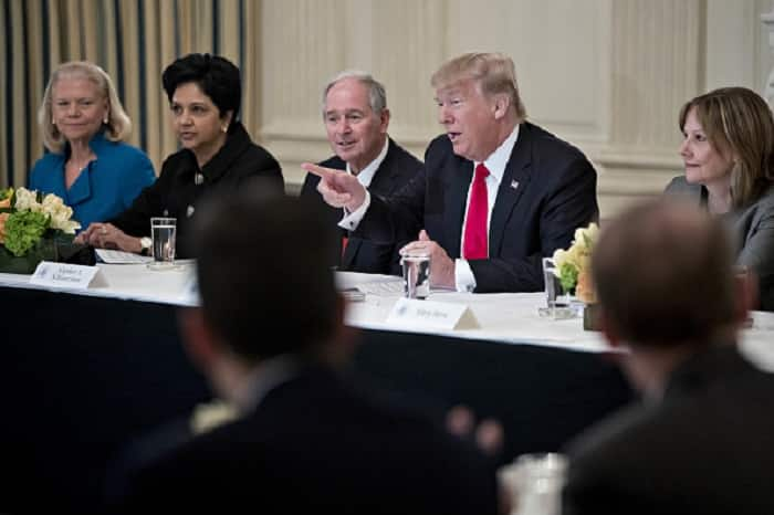 Trump hosts Ajaypal Singh Banga and Indra Nooyi for dinner