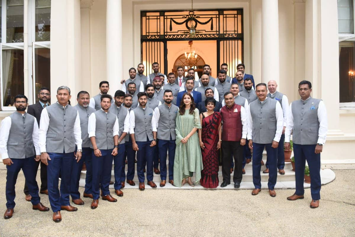 Team India Visit Indian High Commission in UK