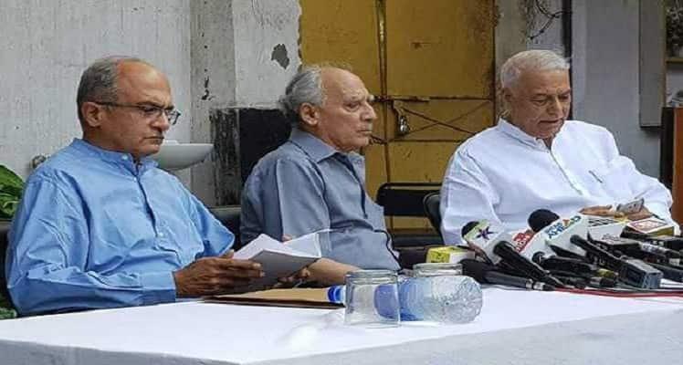 rafale deal prashant bhushan yashwant sinha arun shourie concoct stories