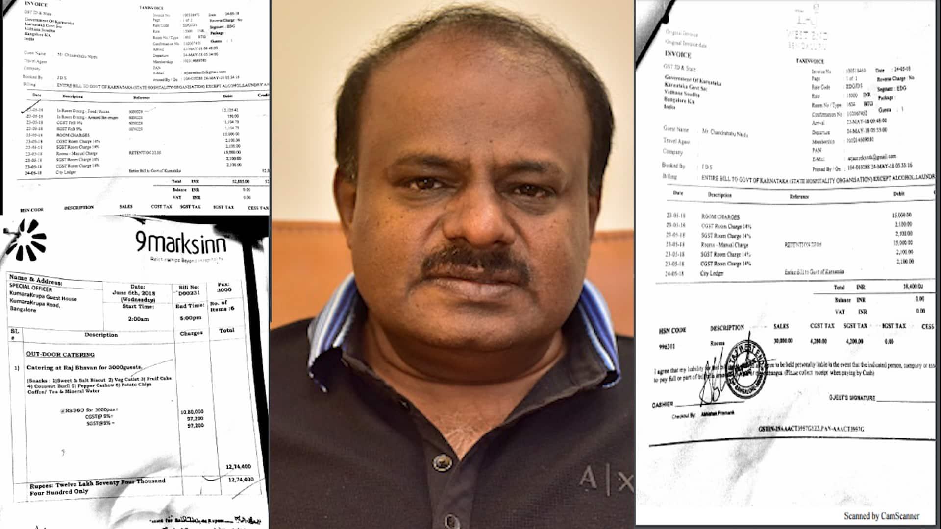 Kumaraswamy's 7-min swearing-in cost Karnataka exchequer fortune: Food, accommodation, hotel charges...