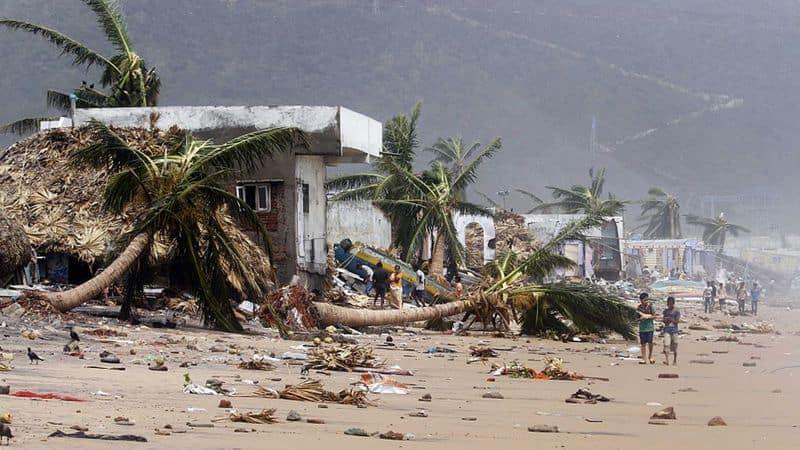 Cyclone Titli Odisha landslide National Disaster Response Force