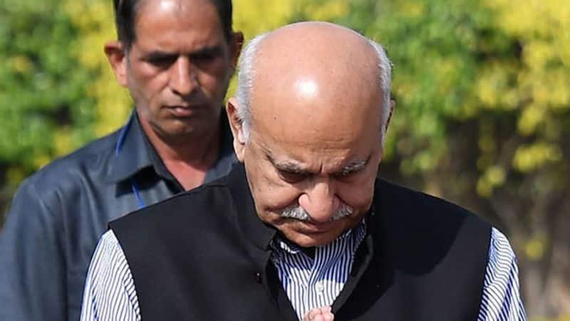 #MeToo MJ Akbar sexual harassment allegations legal action 2019 Lok Sabha elections