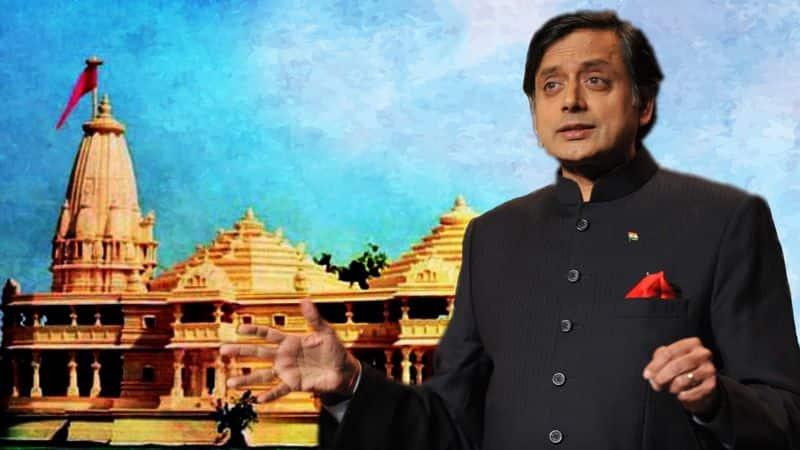 Shashi Tharoor said good hindu dont want Ram temple at Ayodhya