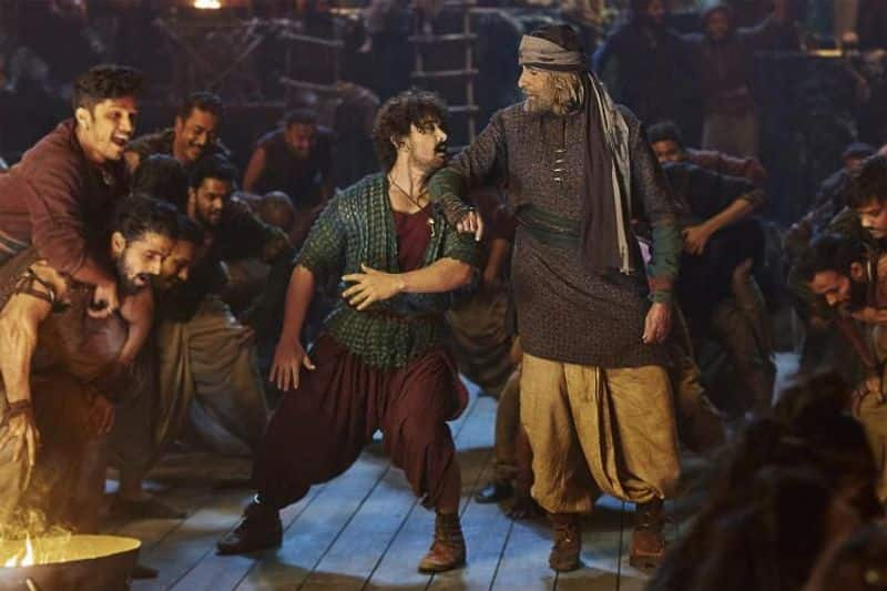 Aamir Khan-Amitabh Bachchan groove for first time on Vashmalle