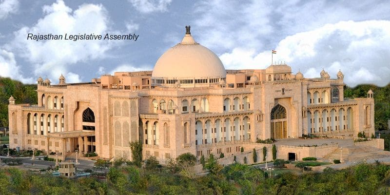 Democracy Rajasthan assembly mla questions education, health, infra