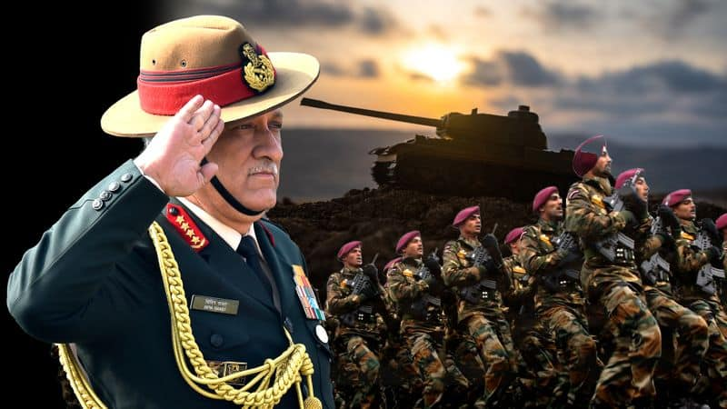 Army, Indian Army, integrated battle groups, General Bipin Rawat, Pakistan