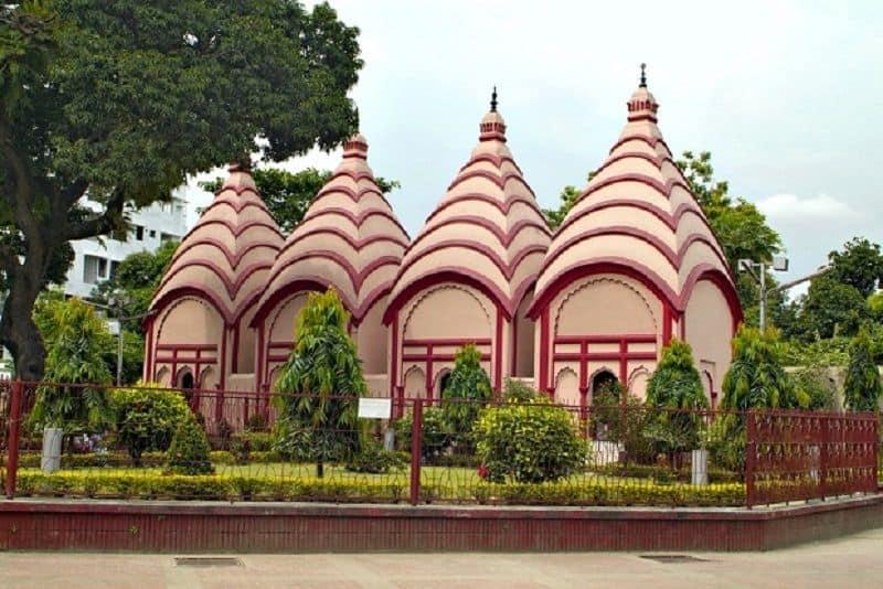 hindu temple got land in Muslim country