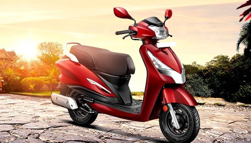 Hero MotoCorp has launched the Destini 125 Platinum edition in India ckm