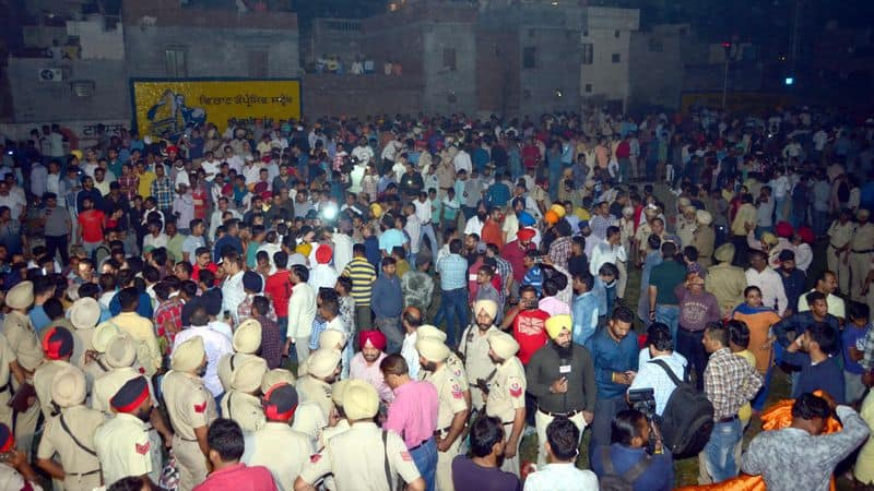 amritsar train accident 61 dead many were critically injured condition railway punjab
