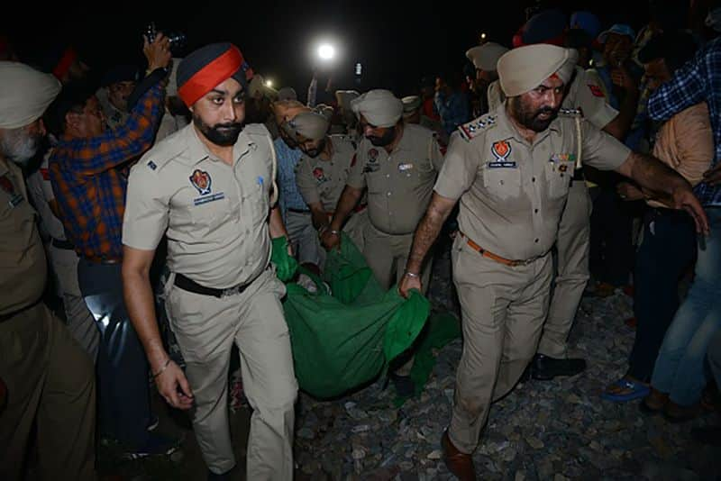 Amritsar train accident: Railway board chairman claims driver reduced the speed
