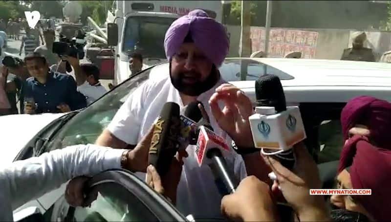 Amritsar Train Accident: Punjab CM Amrinder avoid MyNation question