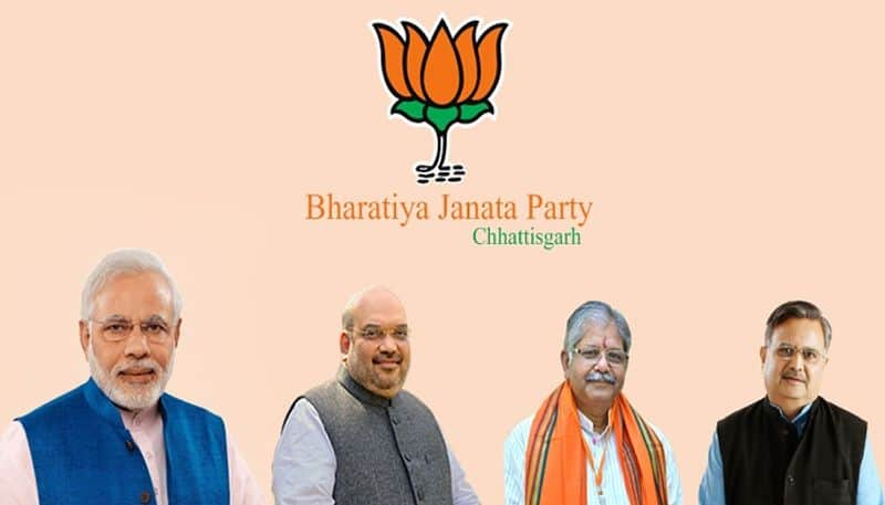 BJP first list of 77 candidates Chhattisgarh assembly election