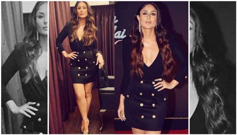 Kareena Kapoor Khan slays in sexy black dress