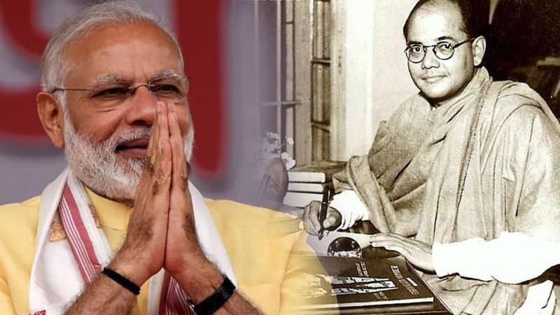 Narendra Modi Netaji Subhash Chandra Bose award natural disaster Azad Hind Government