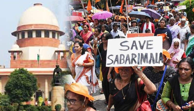Review petition in supreme court for sabrimala