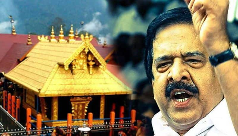Pinarayi government trying  destroy Sabarimala opposition alleges in Assembly