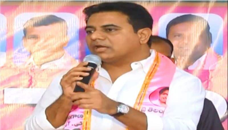 minister KTR setaire to chandrababu in twitter
