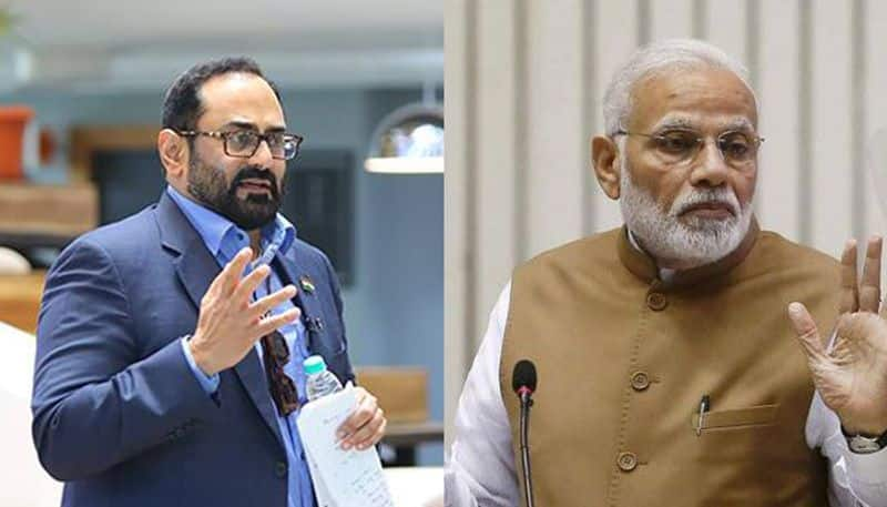 Rajeev Chandrasekhar speaks about completion of the 1st year of the second term of Narendra Modi government