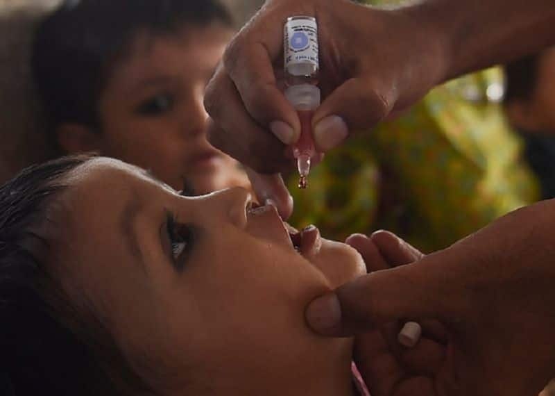 12 kids administered sanitiser drops instead of polio dose in Maharashtra's Yavatmal district