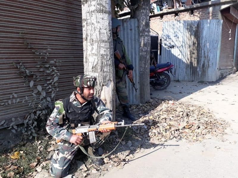 Jammu and Kashmir Anantnag terrorists encounter security forces Indian Army