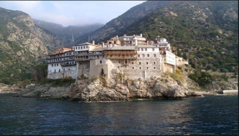 women entry banned even in Mount Athos