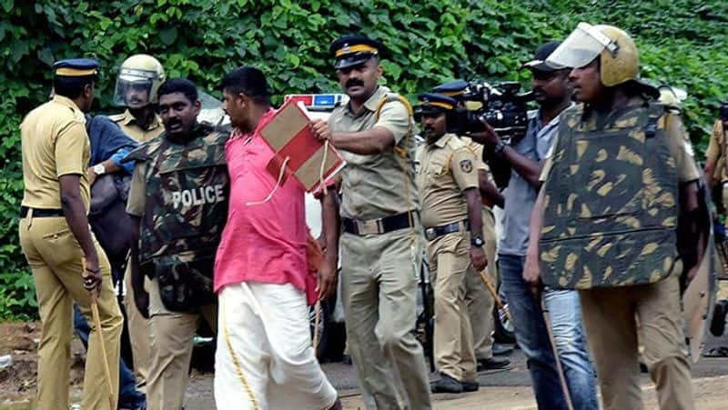 Kerala Sabarimala Police Lookout notice Ayyappa Devotees